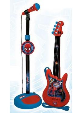 Conjunto Guitarra y Micro Spiderman
