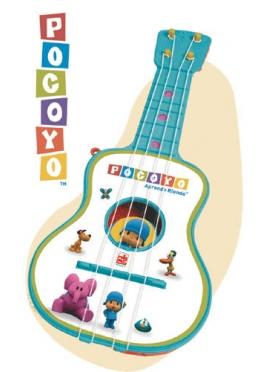Guitare 4 Cordes sur l'Étui de Pocoyo