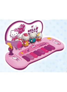 Orgel mit Figuren und Melodien Hello Kitty