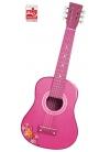 Guitarra Madera 65 cm - Rosa