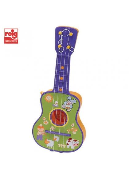 Guitarra 4 Cuerdas en Bolsa (Materiales Ecológicos)