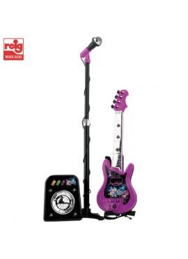 Jeu Flash avec le Micro, le Déflecteur et la Guitare 4 Cordes