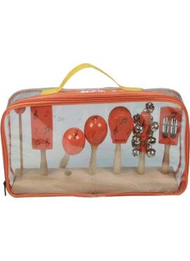 Set 5 Instrumentos Madera