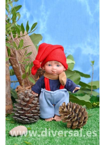 Muñecas Elfos de Pep Catalá Gnomitos GNOMITO