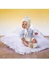 JUANIN BABY с вельветовыми штанами, свитером и шерстяной шапкой