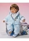 Muñecas Miel de Abeja Dani 42 Cm Danny Conjunto Polar Celeste