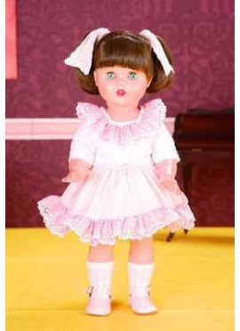 Ladybug Perez Dress Pink Polka Dots