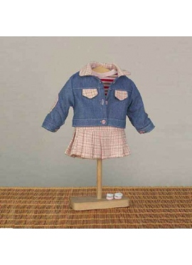 SET DENIM JACKET