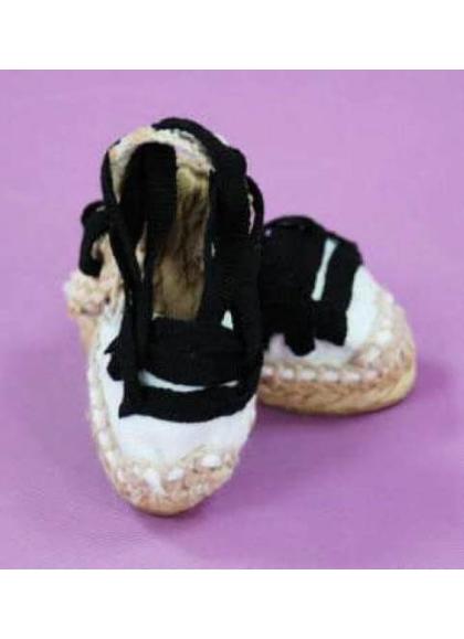 Espadrilles Blanc Aragonaise
