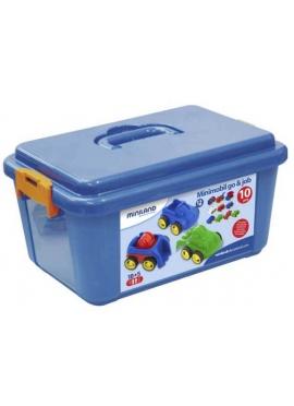 School Minimobil Container 10 Stück.