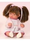 Muñecas Miel de Abeja ñacos de Miel 23cm Ñaco Vestido Blanco con Chaqueta Rosa