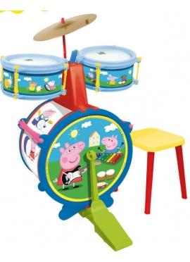 La batteria Solo con un Cordolo di Peppa Pig