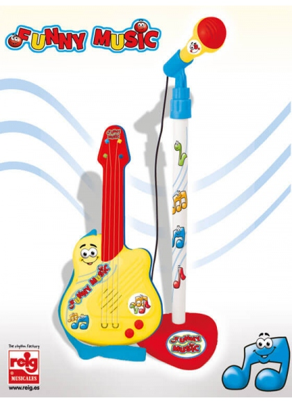 Guitarra y Micro Primer Set