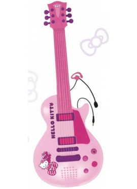 Guitarra Electrónica con Micro Hello Kitty