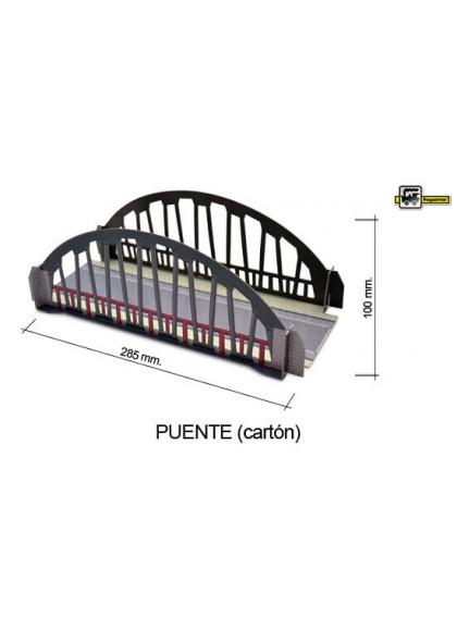Juguetes Trenes Accesorios Generales PUENTE DE CARTÓN