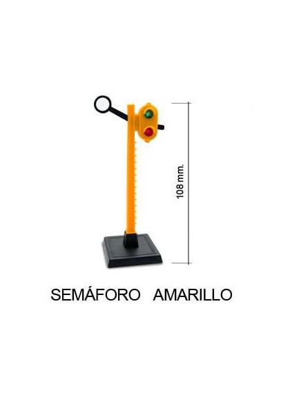 Juguetes Trenes Accesorios Generales SEMÁFORO AMARILLO