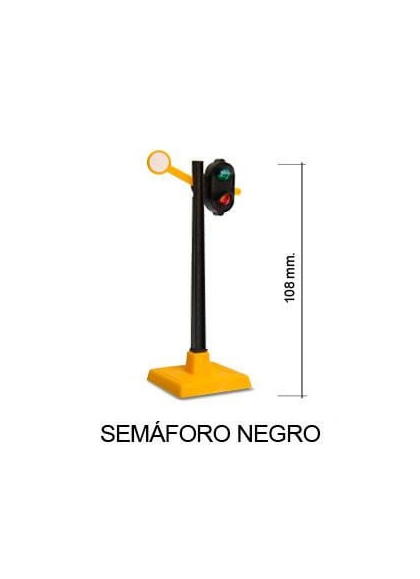 Juguetes Trenes Accesorios Generales SEMÁFORO NEGRO