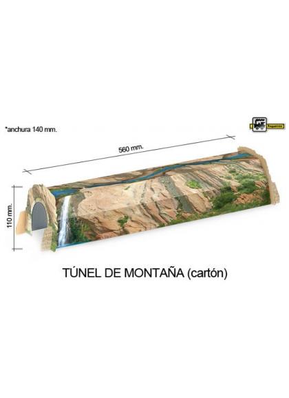 Juguetes Trenes Accesorios Generales TUNEL CARTON MONTAÑA
