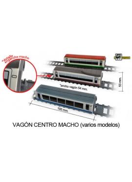 VAGÓN CENTRO MACHO-MACHO VAGON EUROMED