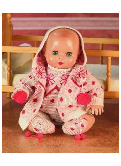 Снежный комплект Juanin Baby красный