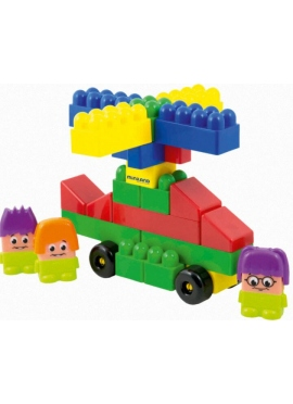 Super Blocks 32 pcs con Personajes
