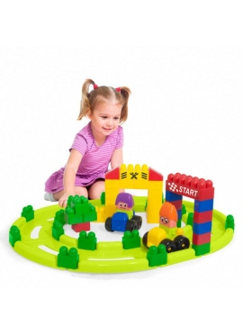 Set Track 2 - Blocks Super 61 pcs