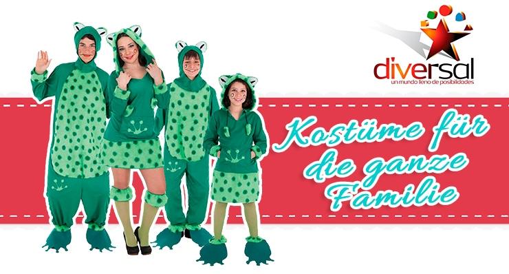 Kostüme für Familien