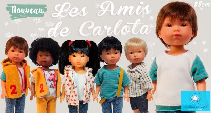 Nouvelle collection de poupées en 28 cm Vestida de Azul