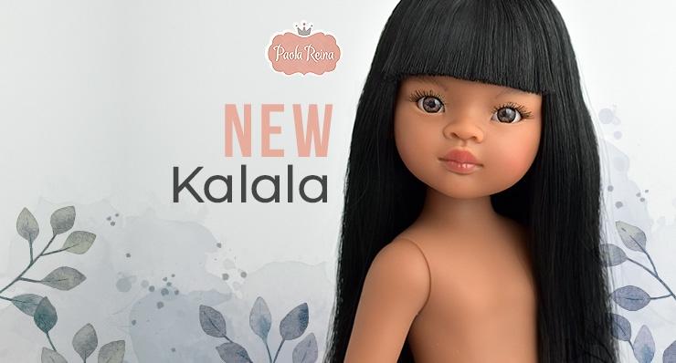 KALALA, LA NUEVA MUÑECA DE PAOLA REINA