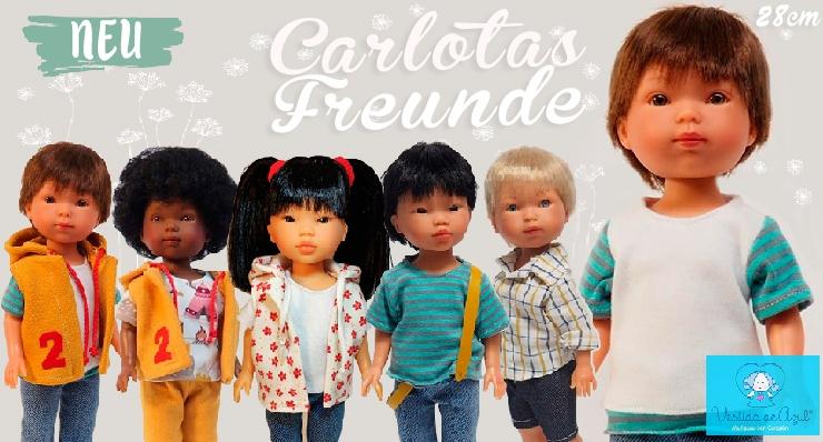 Neue Puppenkollektion in 28 cm Vestida de Azul