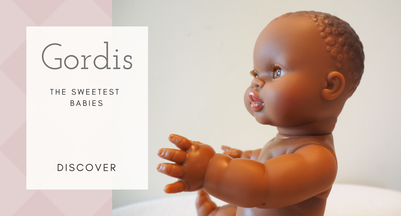 Gordis babies without clothes dolls to customize Paola Reina