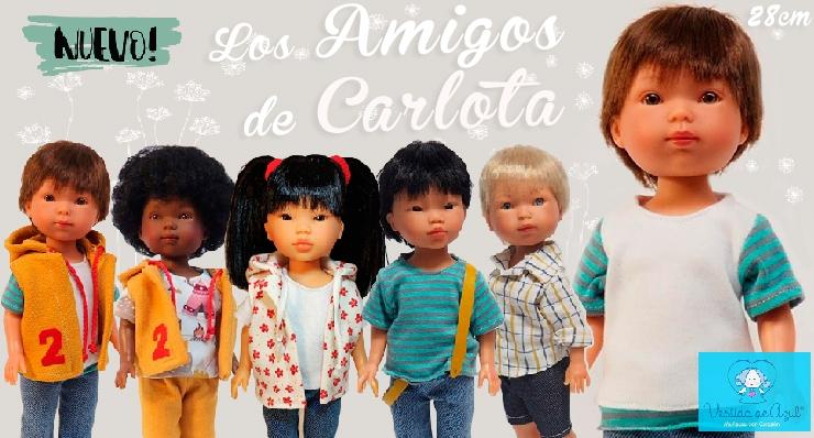 Nueva colección de muñecos en 28 cm de Vestida de Azul